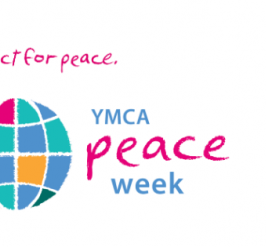 November 14-21. Build community. Act for peace. YMCA Peace Week.