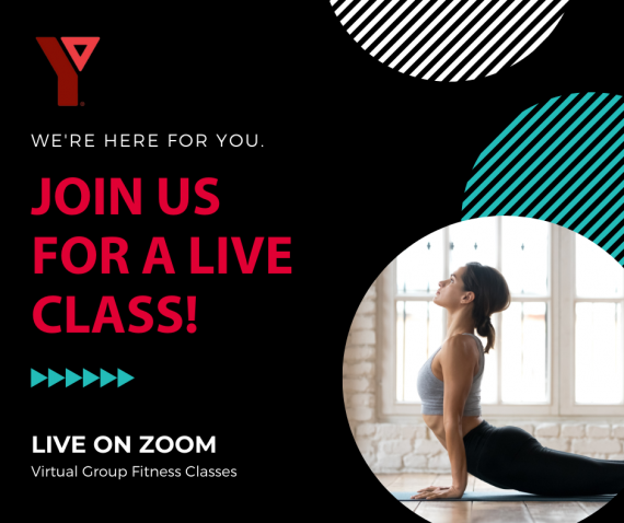 Join Us For A Live Class! Virtual Group Fitness Classes on Zoom
